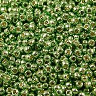 TOHO Round 8/0 Permanent Finish &shy- Galvanized Green Apple (10g)