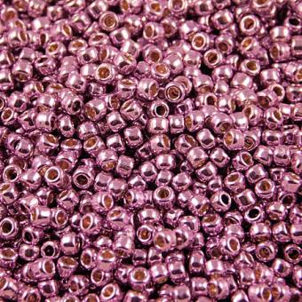 TOHO Round 8/0 Permanent Finish - Galvanized Sugar Plum (10g)