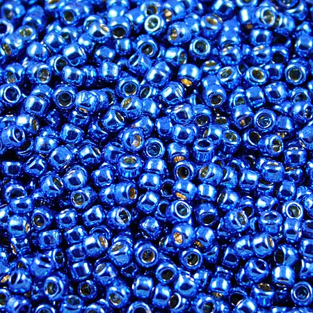 TOHO Round 11/0 Permanent Finish - Galvanized Ocean Blue (10g)
