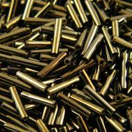 TOHO Bugle 9mm Metallic Iris Brown (1op)
