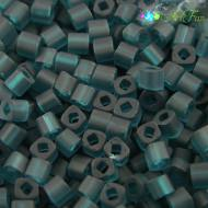 TOHO Cube 3mm Transparent&shy-Frosted Teal (1op)