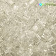 TOHO Cube 3mm Transparent Crystal (1op)